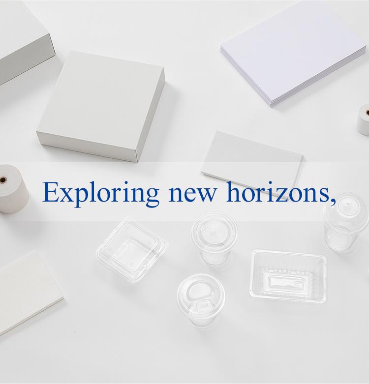Exploring new horizons,